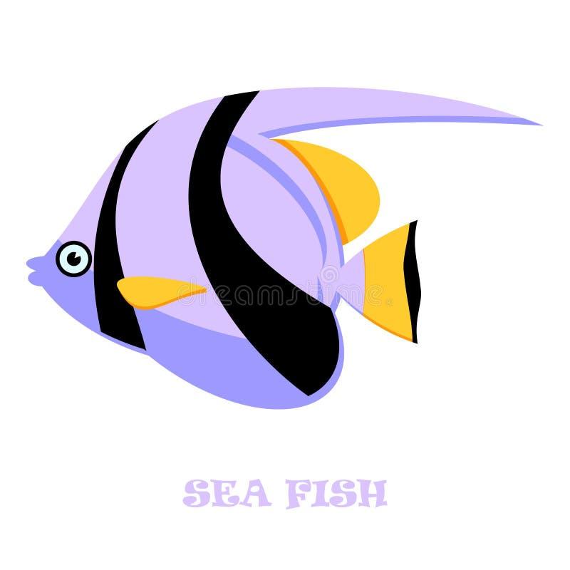 Download Ejemplo Del Vector Del Color De Los Pescados De Mar Ilustración del Vector - Ilustración de undersea, agua: 42432301