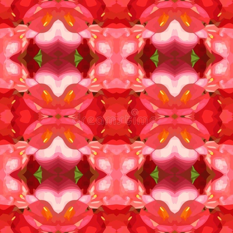 Ejemplo del vector del fondo abigarrado rosa ilustración del vector