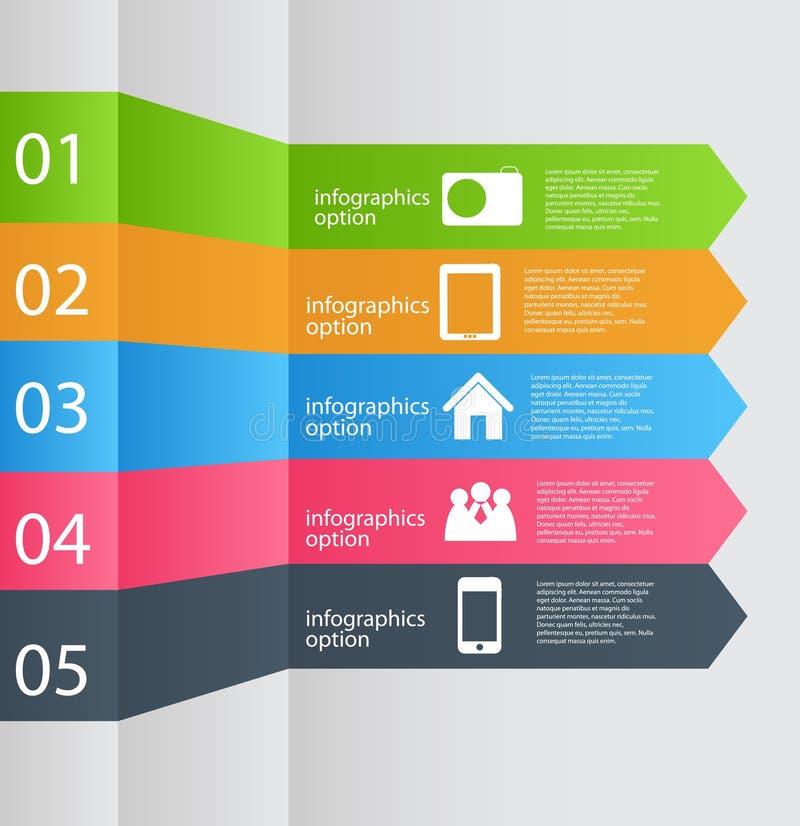 Ejemplo del vector del negocio de la plantilla de Infographic libre illustration
