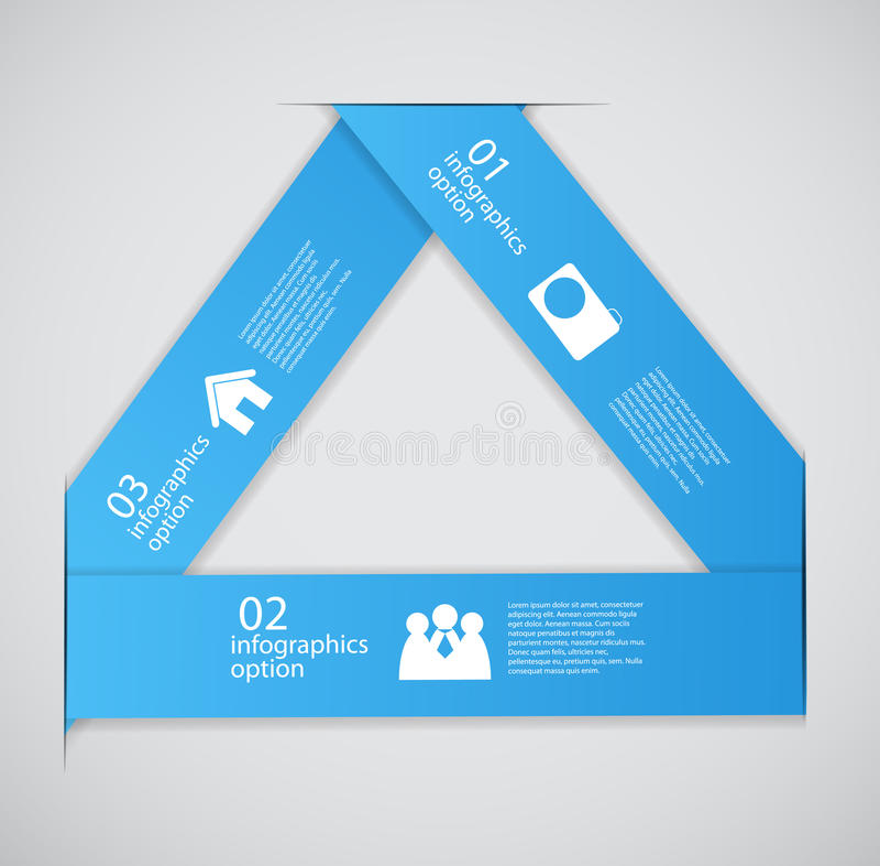 Ejemplo del vector del negocio de la plantilla de Infographic stock de ilustración