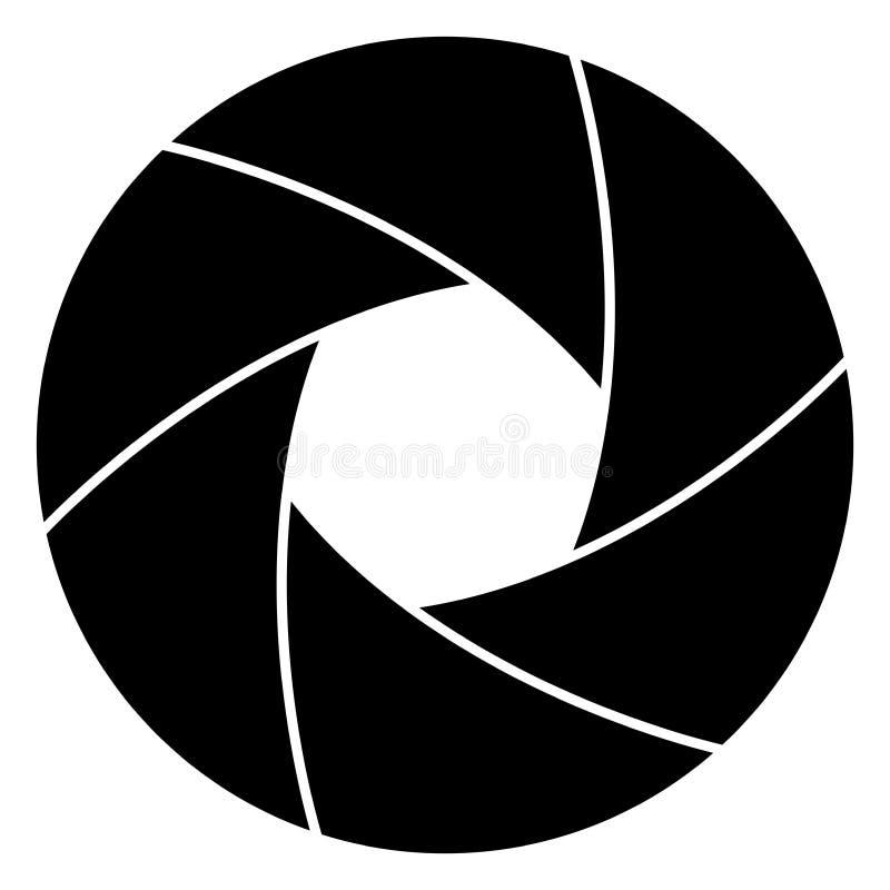 Ejemplo del vector del obturador de cámara libre illustration