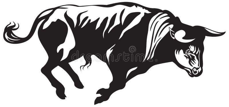 Toro de la tauromaquia libre illustration