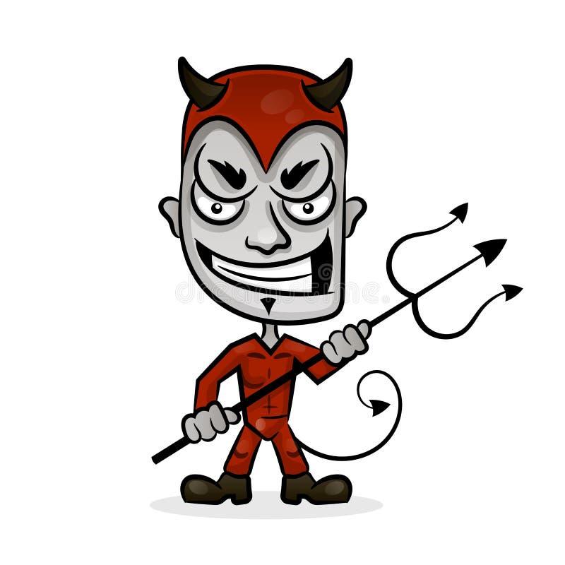 Ejemplo del vector del diablo ilustración del vector