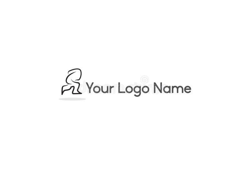 Ejemplo del vector del diseño del logotipo de la flecha stock de ilustración