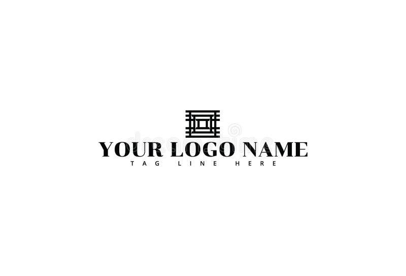 Ejemplo del vector del dise?o del logotipo libre illustration