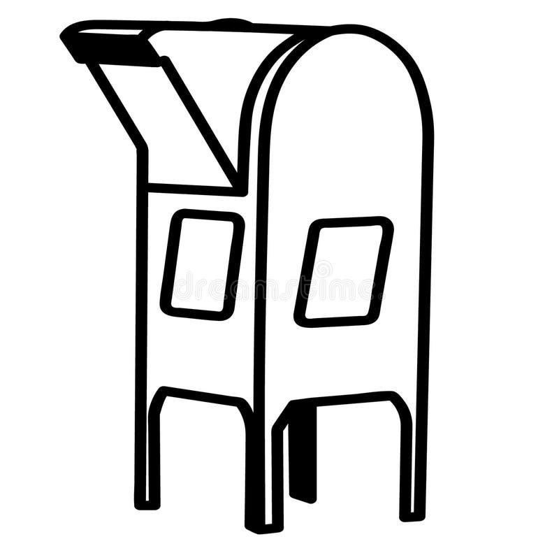 Ejemplo del vector EPS del buz?n por los crafteroks libre illustration