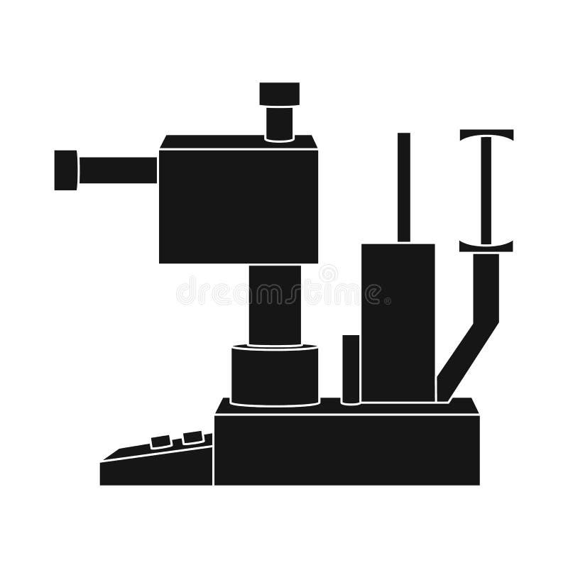 Ejemplo del vector del icono del aparato y del equipo Colección de ejemplo del vector de la acción del aparato y del ojo libre illustration