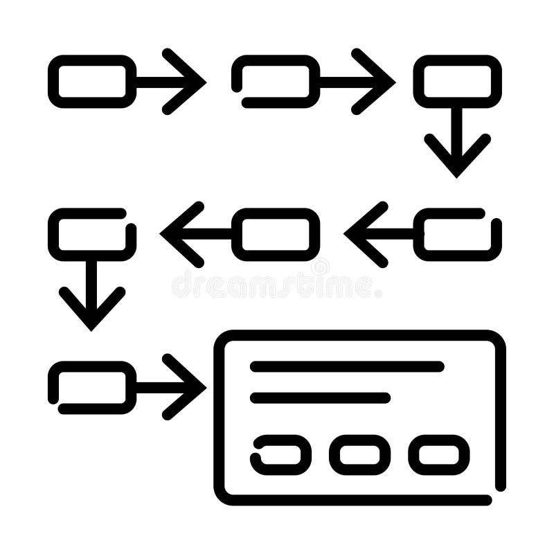 Ejemplo del vector del icono de la tarjeta de cr?dito stock de ilustración