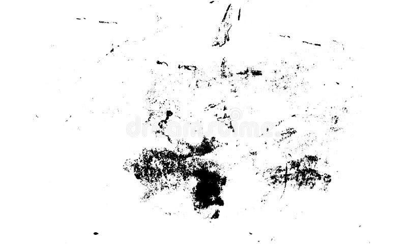 Ejemplo del vector del papel de la textura de la impresión de la tinta del Grunge stock de ilustración