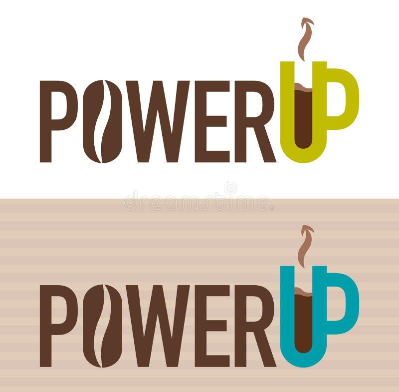 Ejemplo del vector del poder encima del concepto ilustración del vector