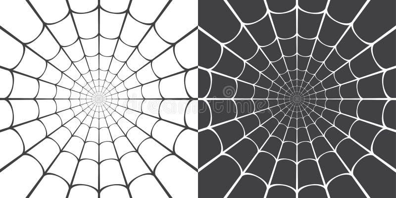 Ejemplo del vector del web de araña libre illustration