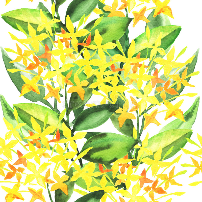 Ejemplo elegante de las flores ilustración del vector