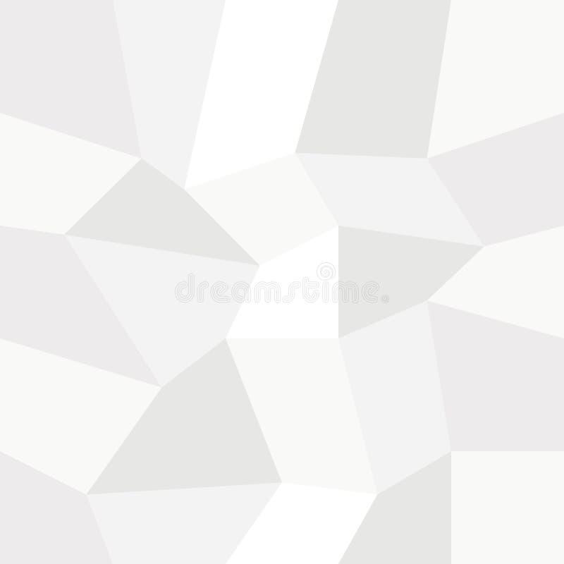 Ejemplo Elegante Del Triángulo Del Color De Fondo Gris