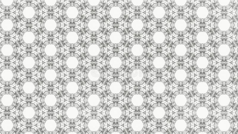 Ejemplo elegante hermoso del gráfico ligero de Grey Decorative Geometric Background Pattern stock de ilustración