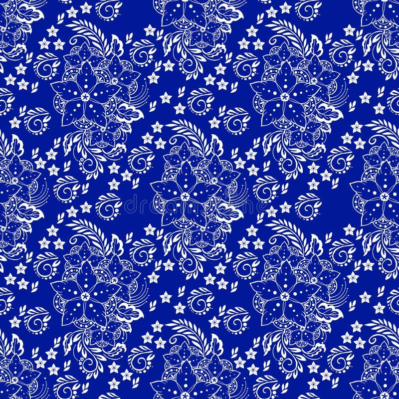 Ejemplo elemental de la flor de la alhe?a de la porcelana ilustración del vector