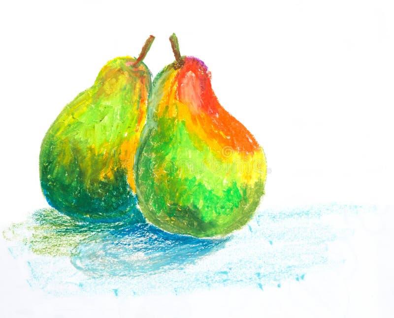 Ejemplo en colores pastel de la pintura del aceite de las for Ejemplo de color de pintura de cocina