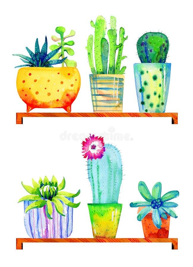 Ejemplo estilizado dibujado mano de los cotos de la fruta y verdura fotos de archivo