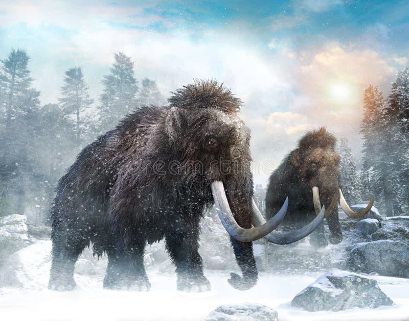 Ejemplo gigantesco de la escena 3D libre illustration