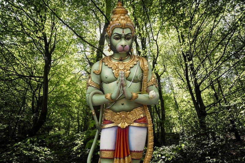 Ejemplo hind? de Hanuman de dios foto de archivo libre de regalías