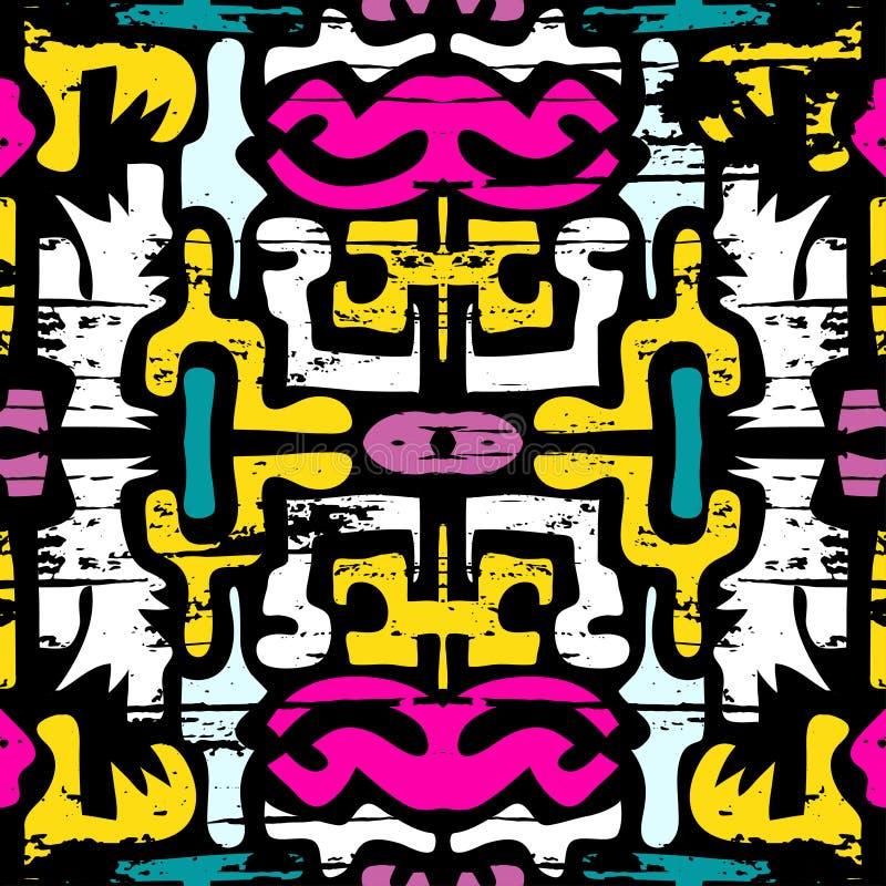 Ejemplo inconsútil abstracto delicado del vector del fondo de la pintada ilustración del vector