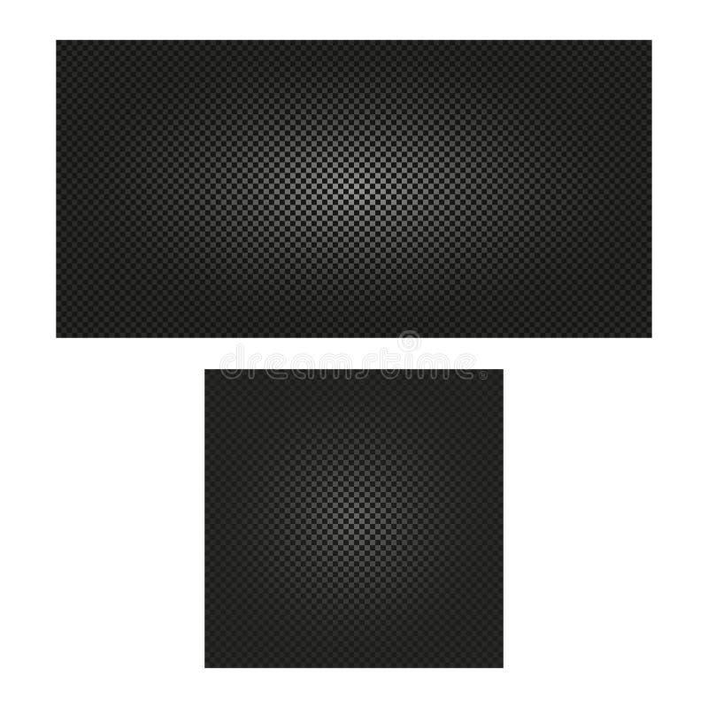 ejemplo inconsútil a cuadros del vector del fondo de la textura del color negro abstracto stock de ilustración