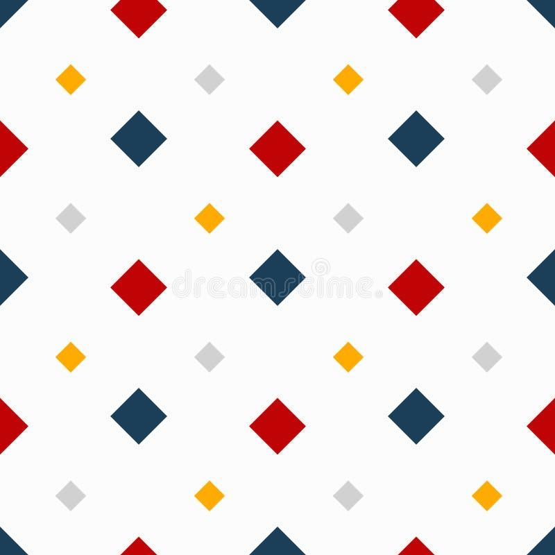Ejemplo inconsútil del vector de la calidad del modelo del color abstracto geométrico para su diseño ilustración del vector