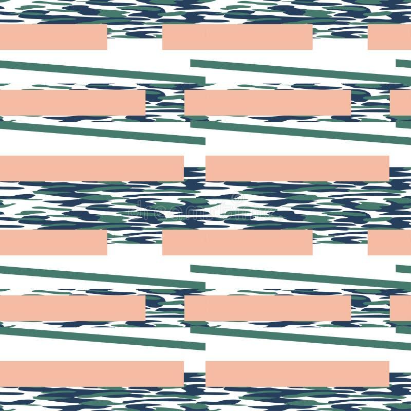 Ejemplo inconsútil del vector del fondo del modelo del camuflaje Clas ilustración del vector