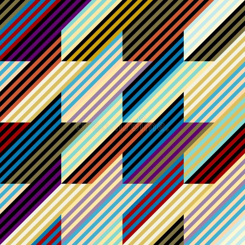 Ejemplo inconsútil del vector del modelo del Perro-diente ilustración del vector
