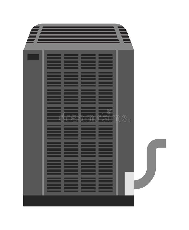 Ejemplo industrial del vector de la fan ilustración del vector