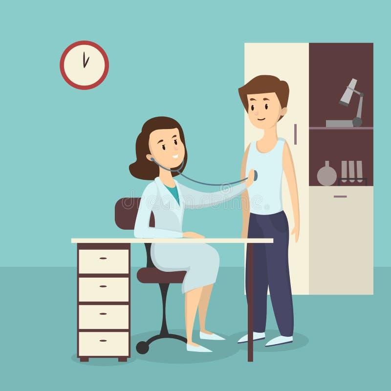 Ejemplo médico de la admisión libre illustration