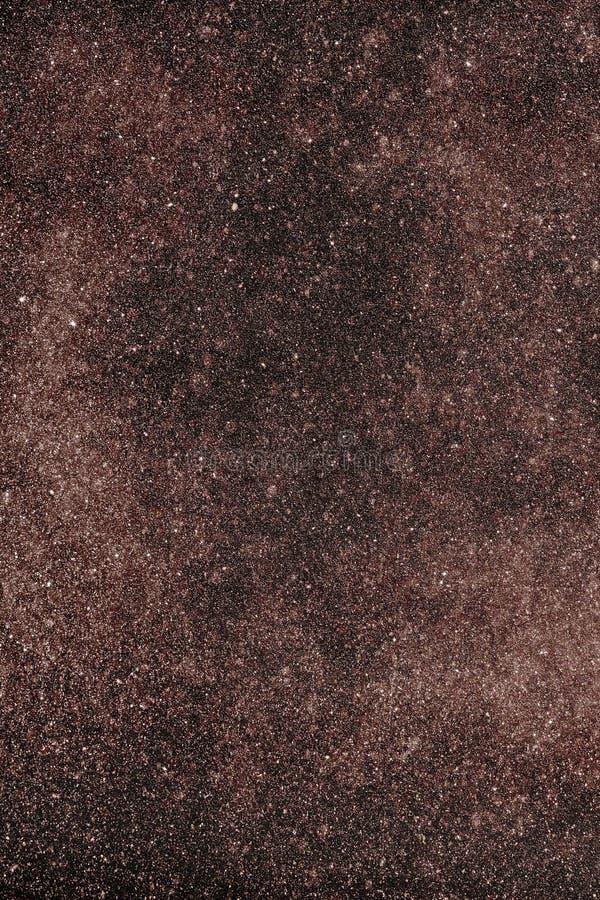 Ejemplo manchado de los comsos como fondo ilustración del vector