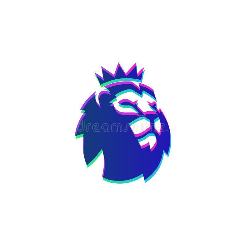 ejemplo oficial del s?mbolo del icono del vector de la plantilla del logotipo del epl de Barclays stock de ilustración