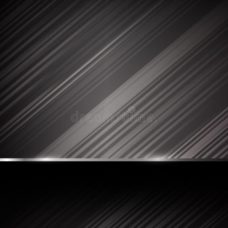 Ejemplo oscuro eps10 del vector del fondo del extracto del acerocromo libre illustration