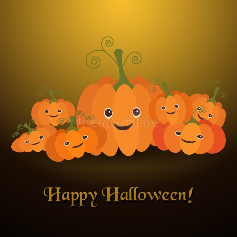 Ejemplo para la celebración de Halloween ilustración del vector