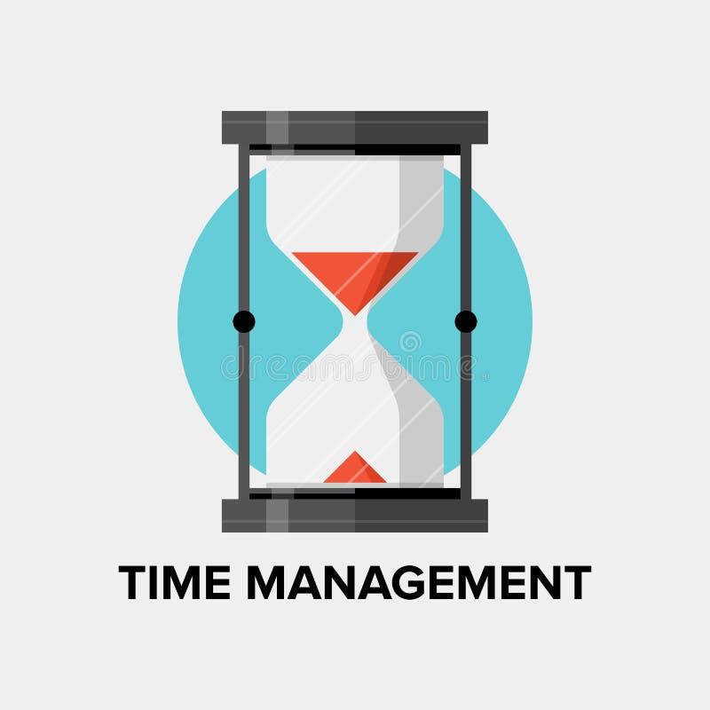 Ejemplo plano de la gestión de tiempo libre illustration