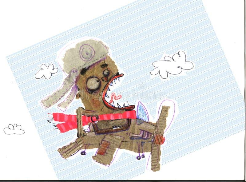 Ejemplo que representa a un piloto extraño libre illustration