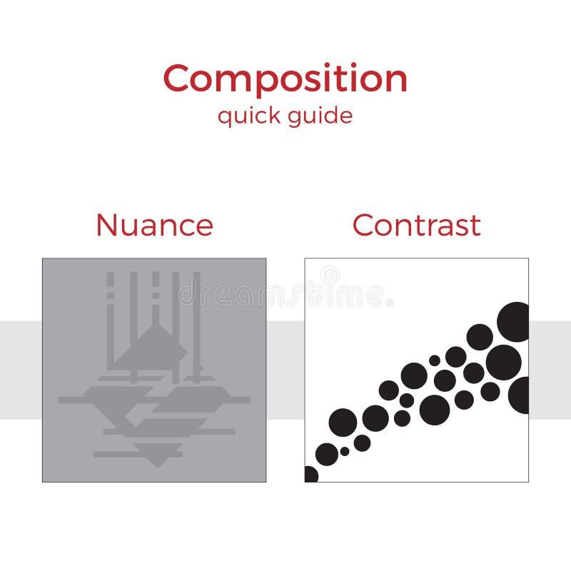 Ejemplo rápido de la guía de la composición libre illustration