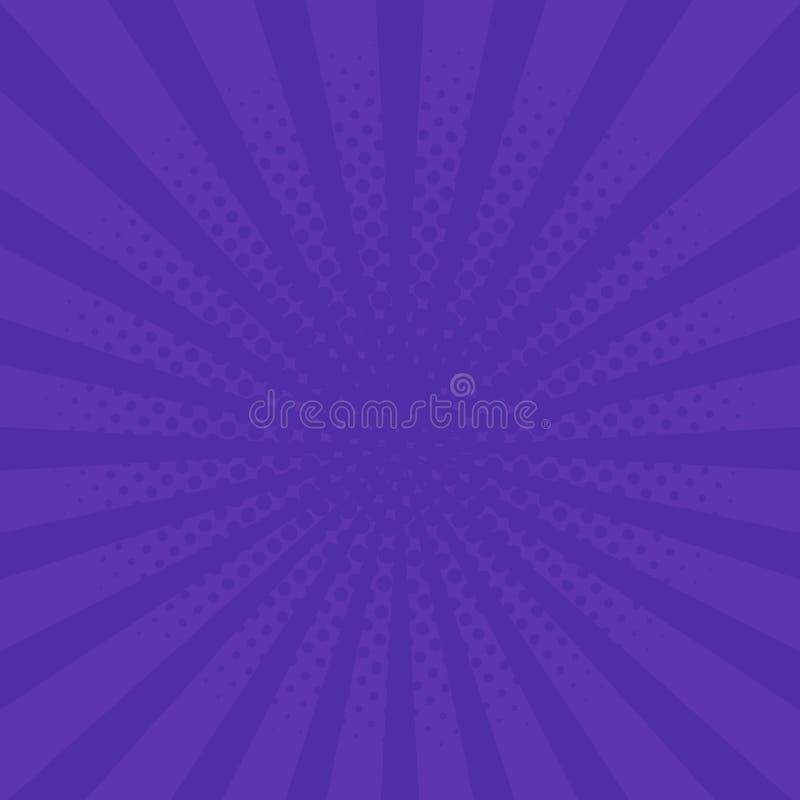 Ejemplo retro púrpura del vector del fondo del estilo libre illustration