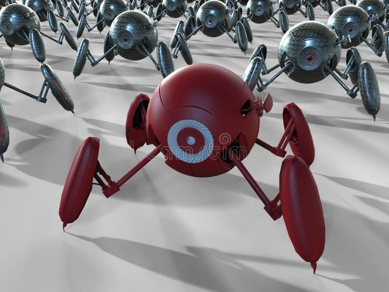 Ejemplo robótico de las cámaras libre illustration