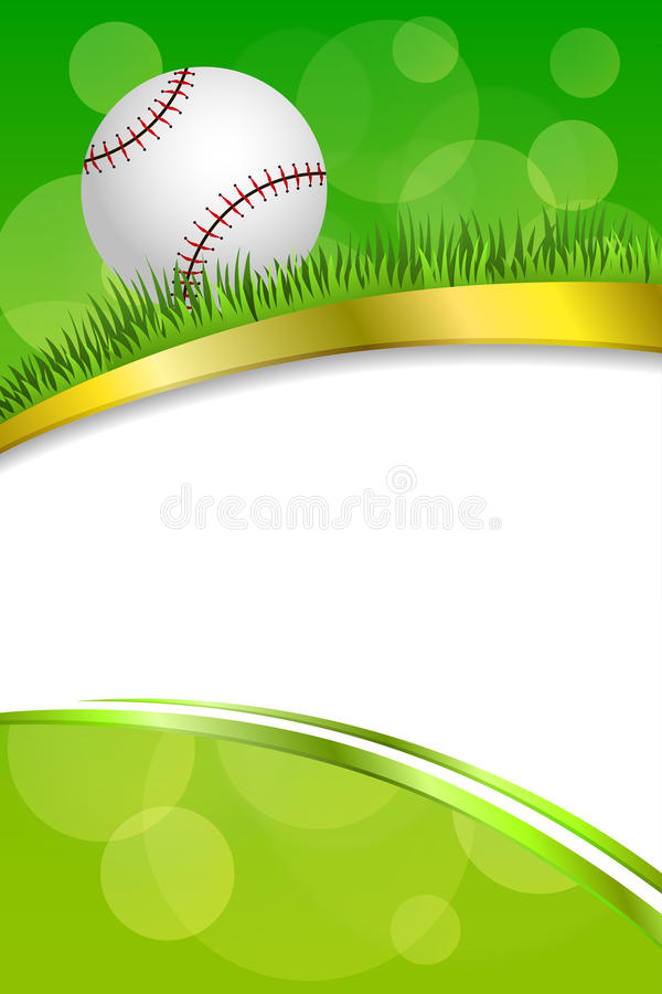 Ejemplo Vertical De La Cinta Del Deporte Del Fondo Del Béisbol De La ...