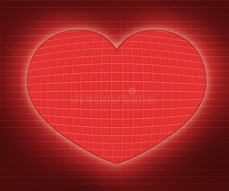 Ejemplos abstractos del corazón fotografía de archivo libre de regalías
