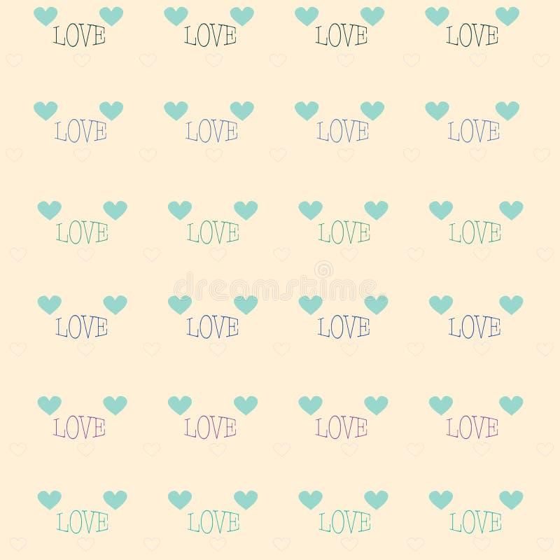 Ejemplos del día de tarjetas del día de San Valentín foto de archivo