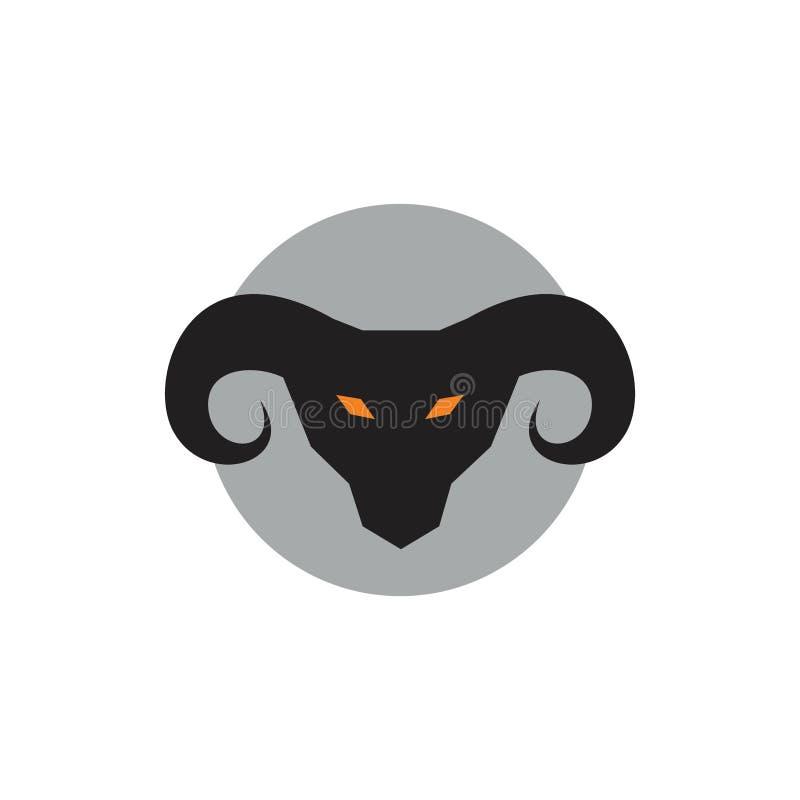 Ejemplos principales malvados de la cabra libre illustration