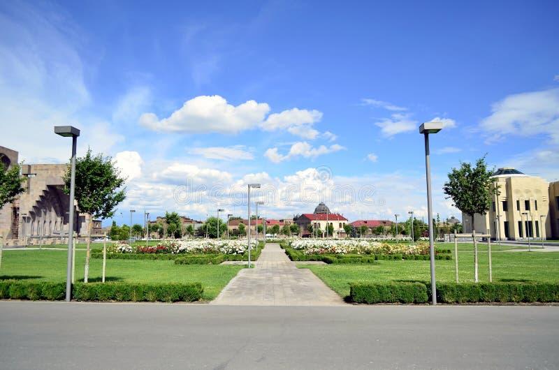 Ejmiacin szkoła zdjęcie stock