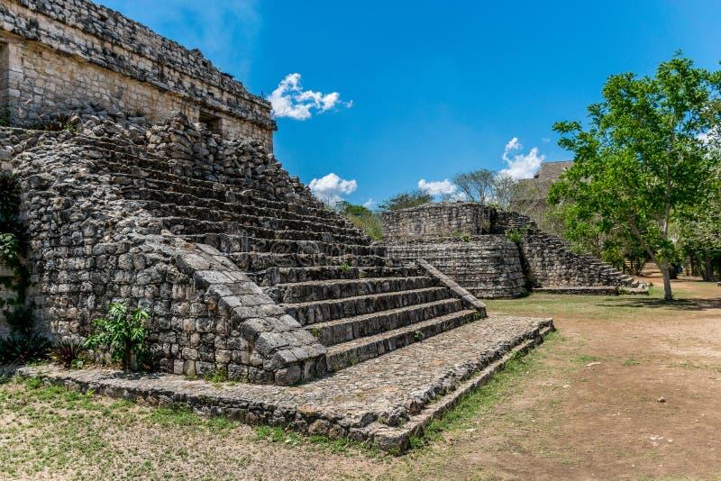 Ek Balam Mayan Acropolis, Temples, and Ruins royalty free stock images