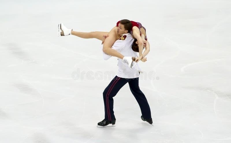 Ekaterina BOBROVA/Dmitri SOLOVIEV (鲁斯) 库存图片