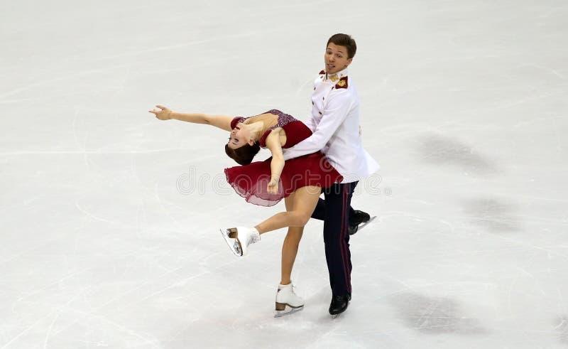 Ekaterina BOBROVA/Dmitri SOLOVIEV (鲁斯) 免版税库存图片