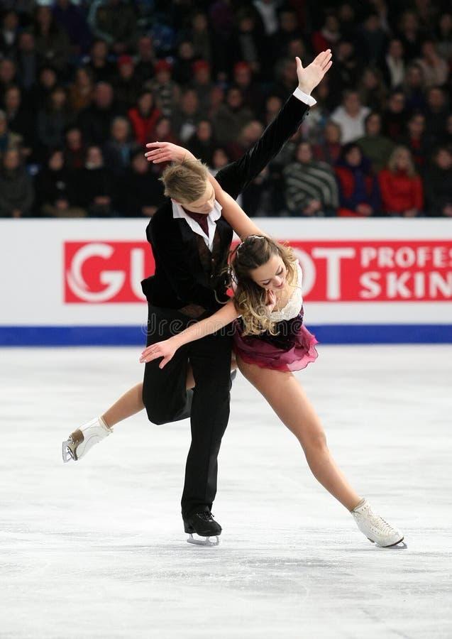 Ekaterina RIAZANOVA/Ilia TKACHENKO (RUS) photo stock