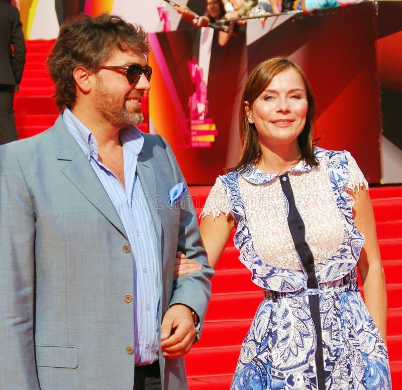 Ekaterina Semyonova at Moscow Film Festival