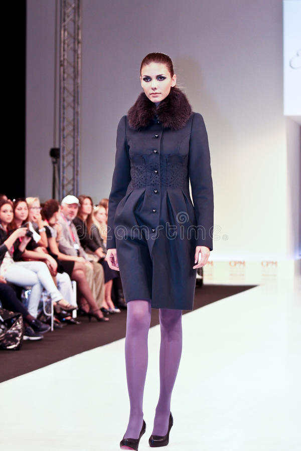 Ekaterina Smolina Clothing Collection Editorial Stock Image